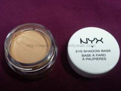 NYX eye shadow primer base