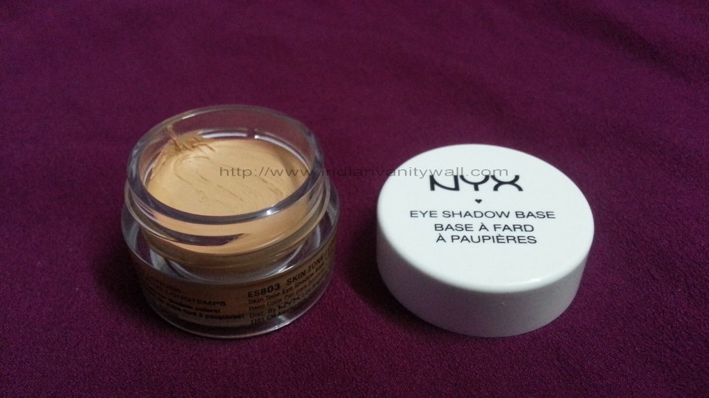 NYX eye shadow primer base