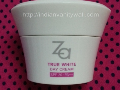 za true white day cream
