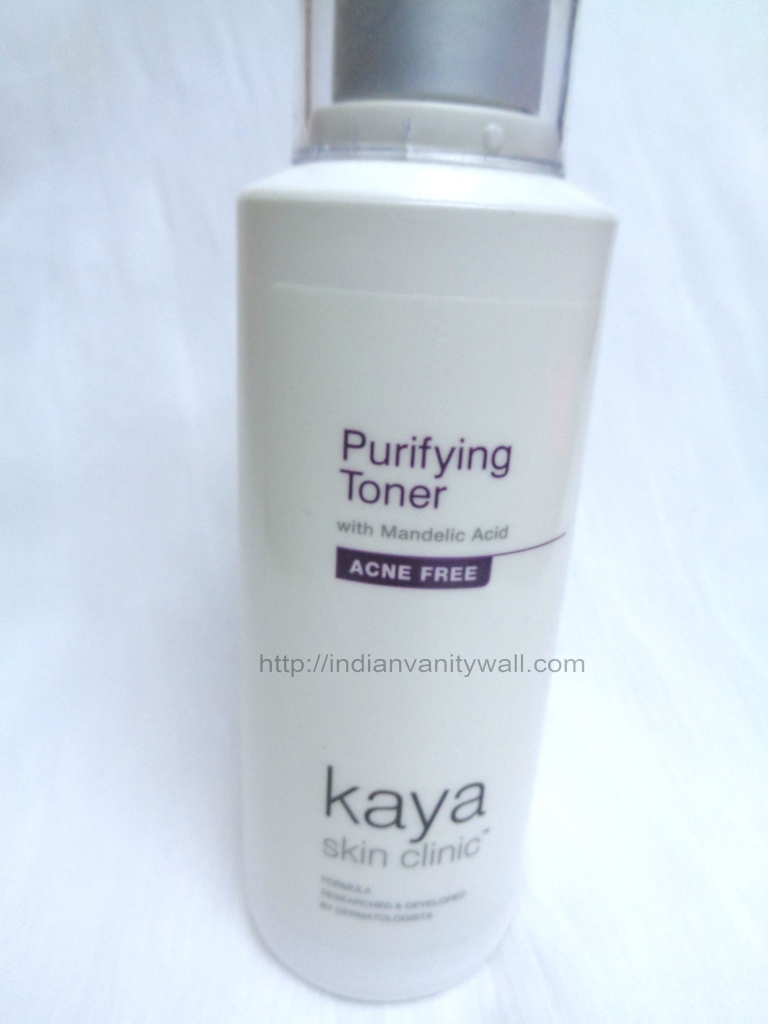 kaya purifying toner