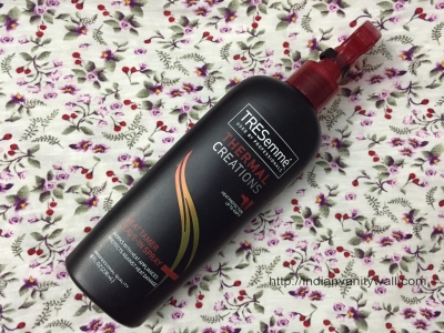 tresemme heat tamer leave in spray