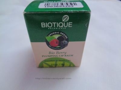 biotique berry plumping lip balm