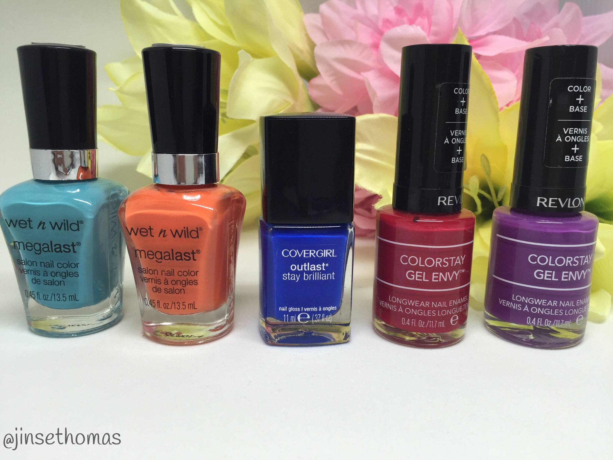 Top Spring - Summer Nail Colors For 2016