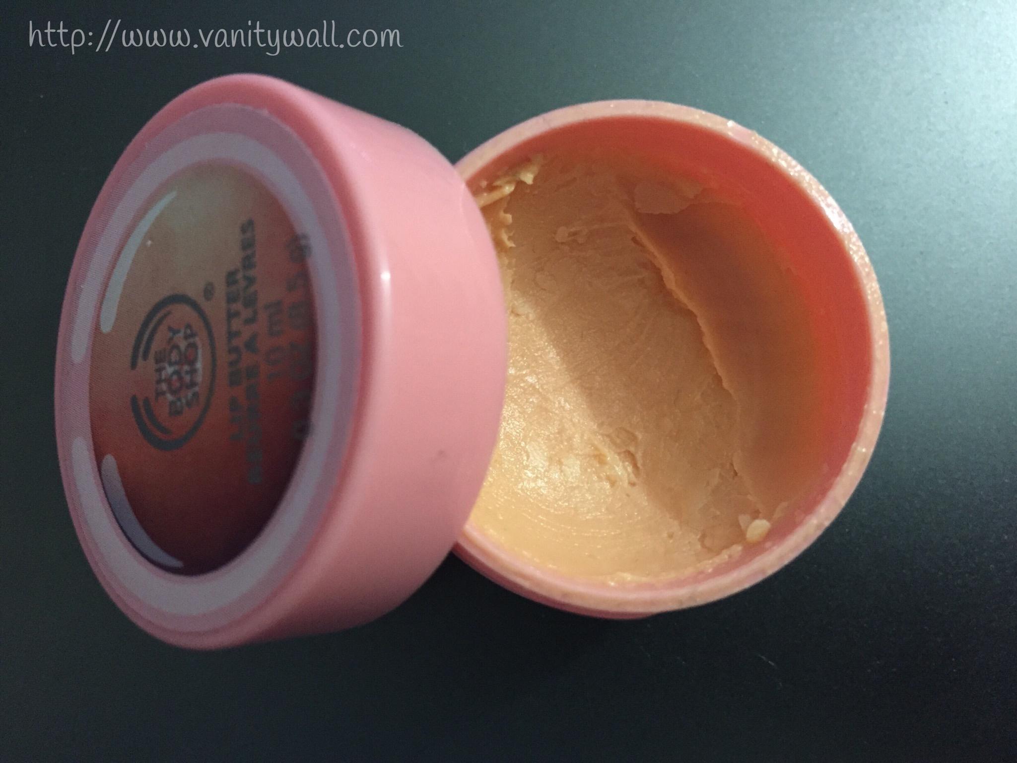 the body shop lip butter pink grapefrui