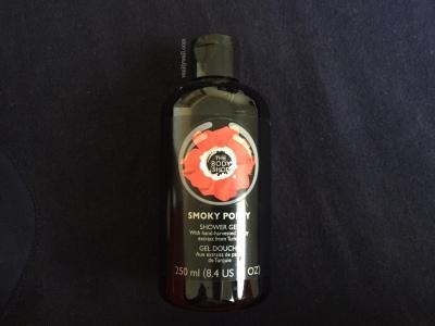 the body shop smoky poppy shower gel