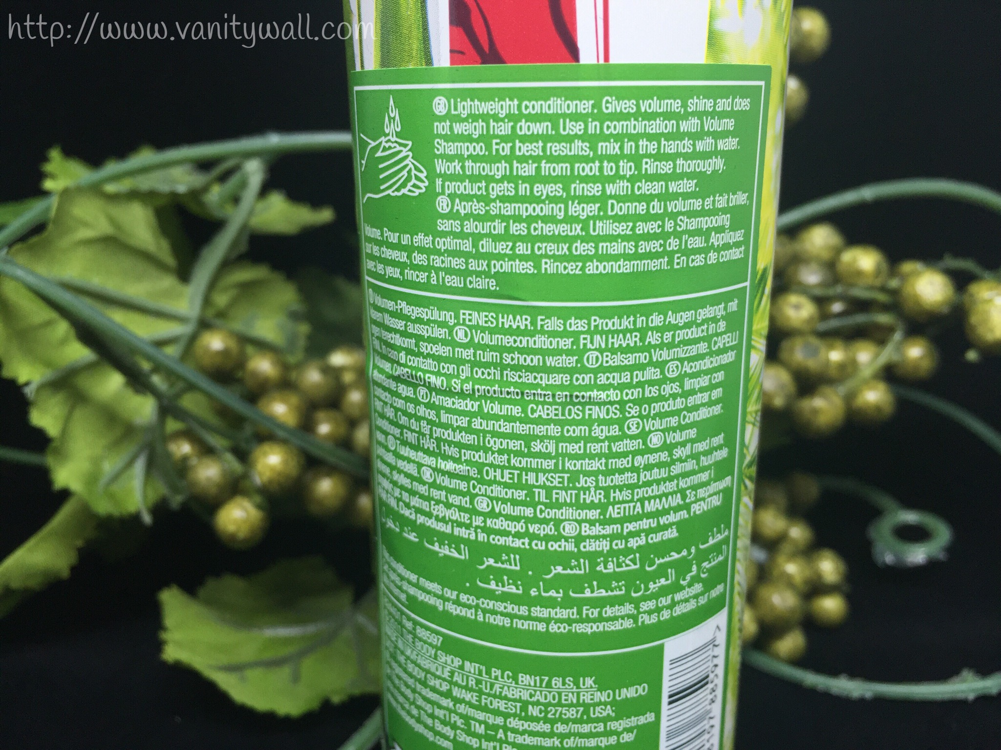 the body shop rainforest volume conditioner
