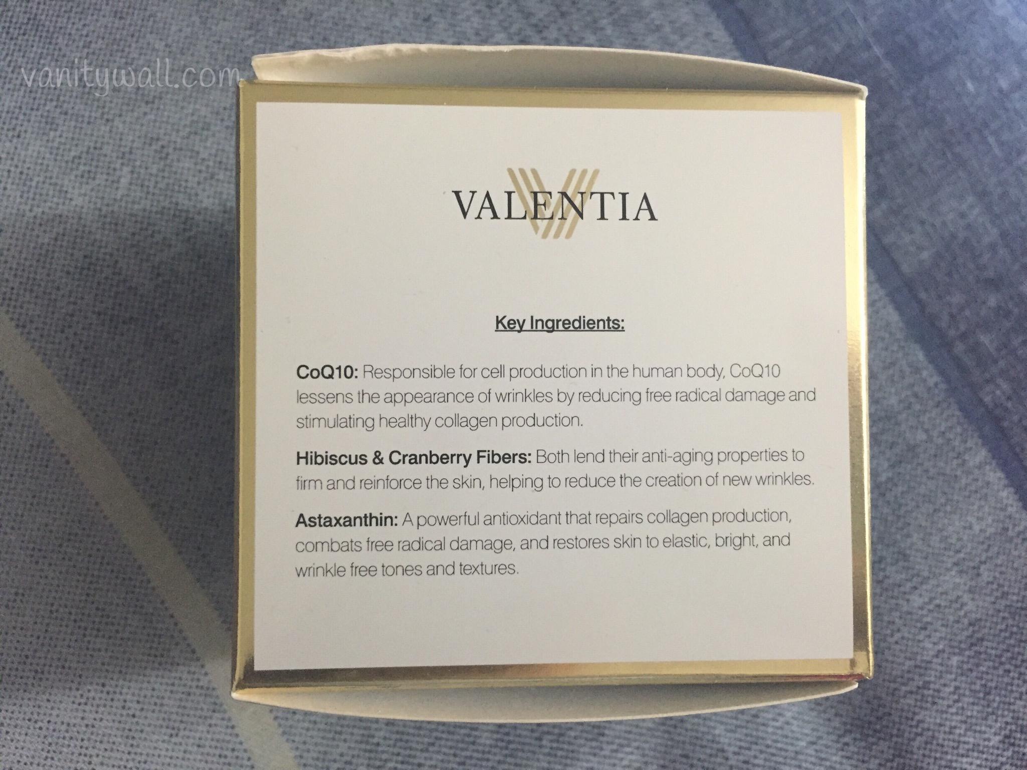 valentia skin detoxifying clay mask