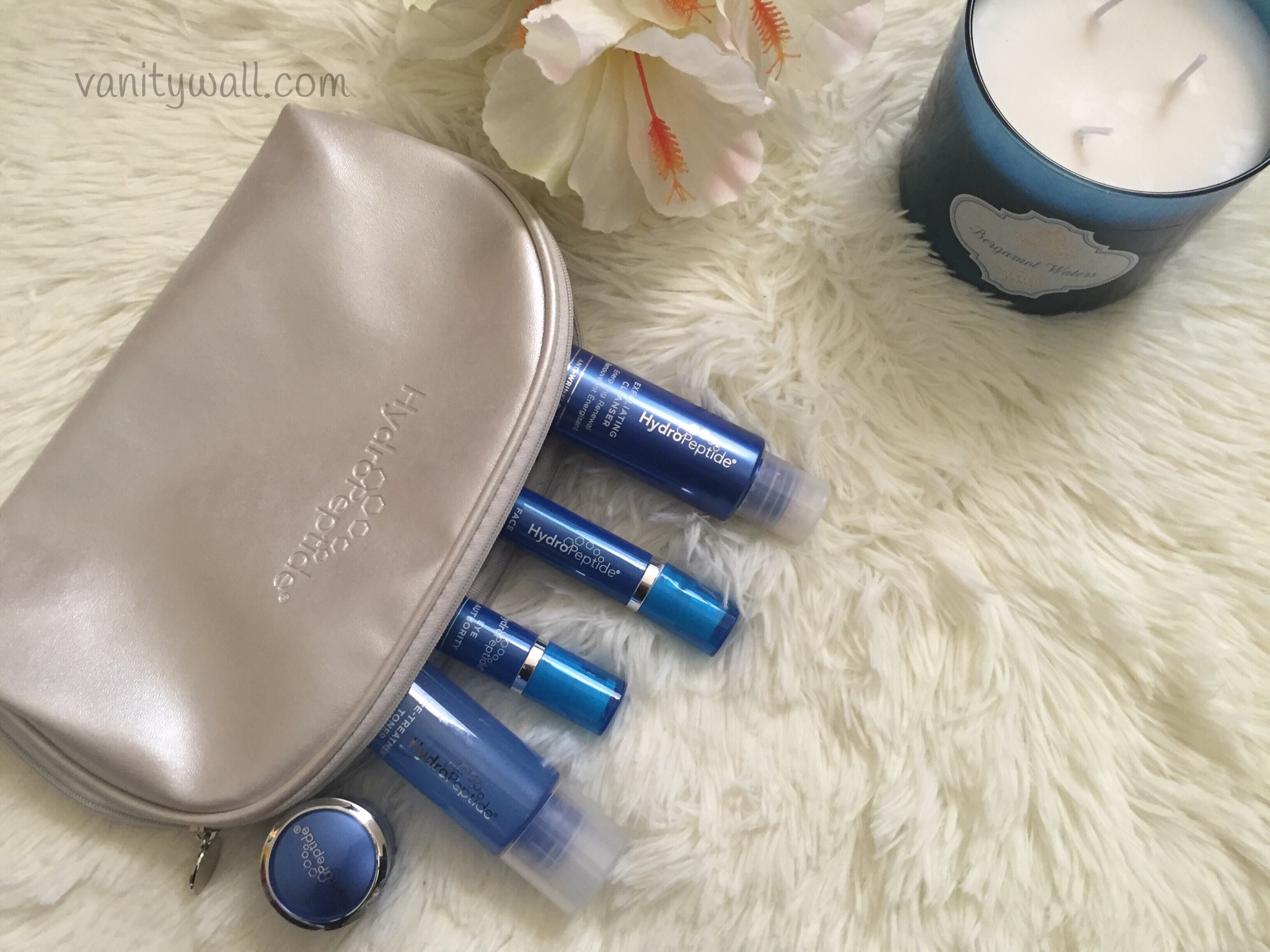 hydropeptide on the go glow travel set