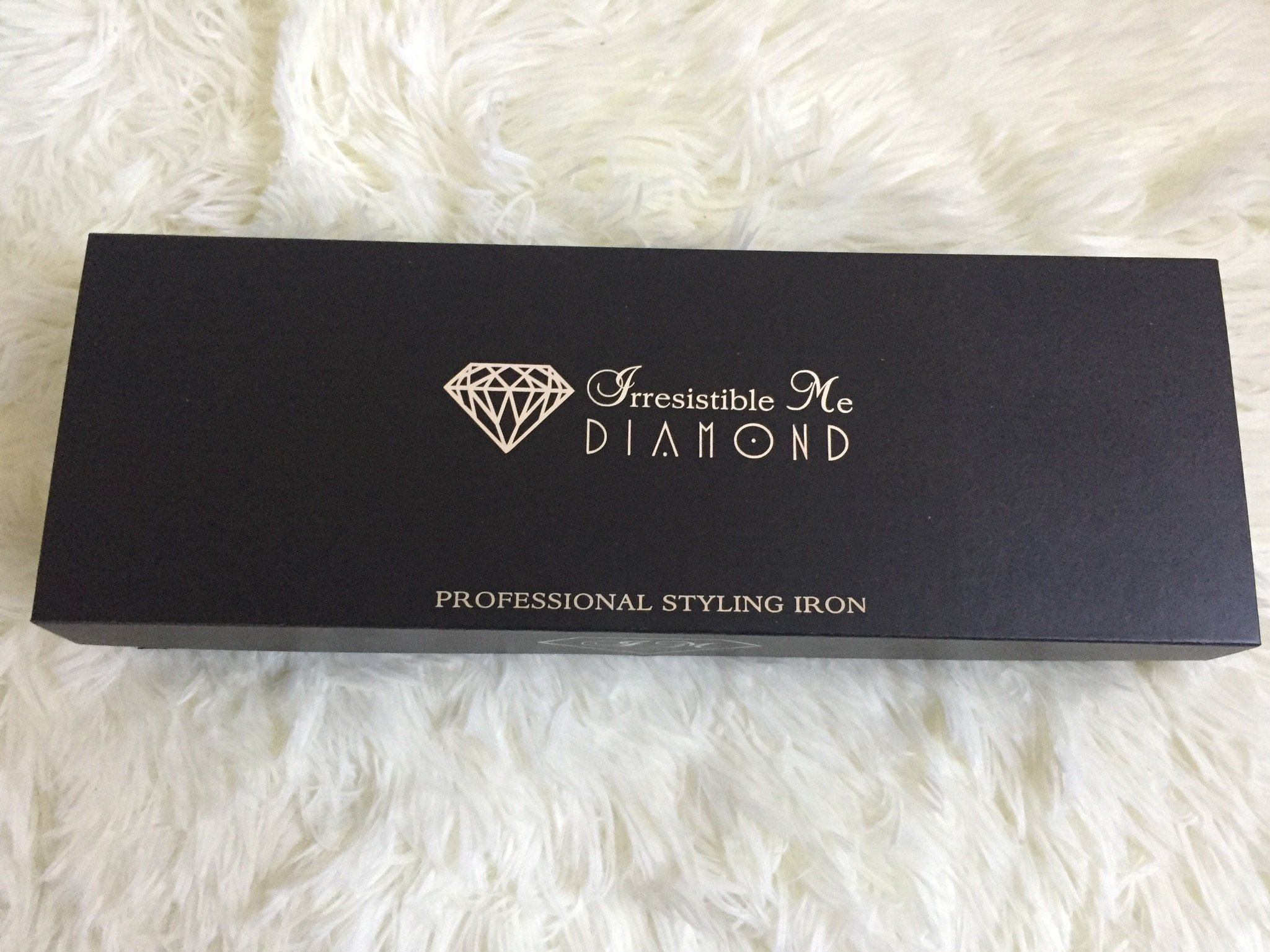irresistible me diamond professional flat iron