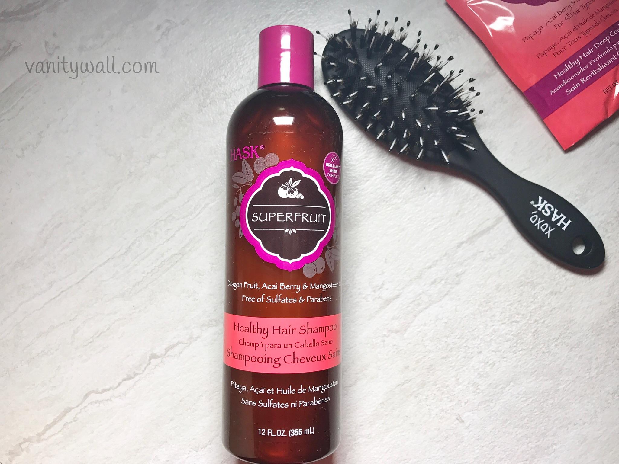 hask superfruit healthy hair