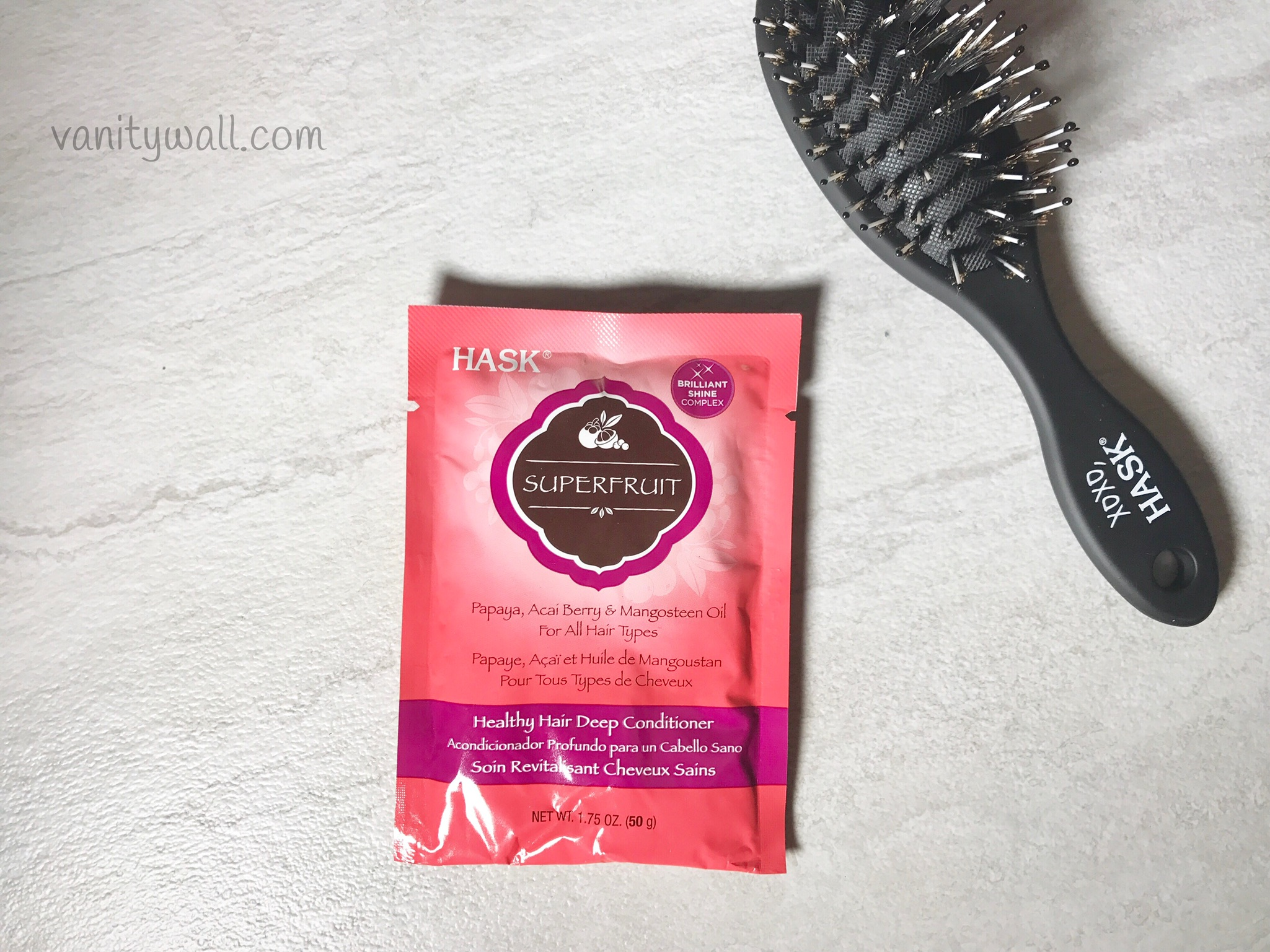 hask superfruit healthy hair